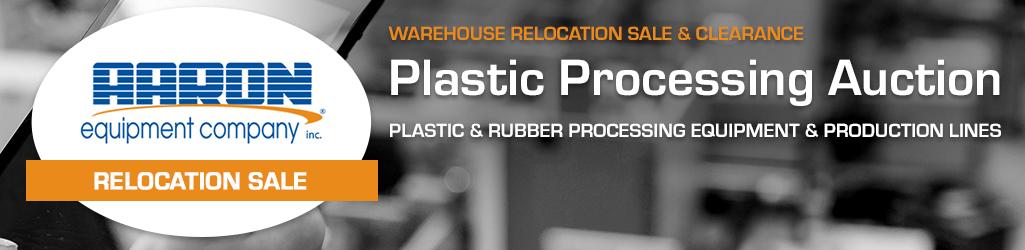 Aaron Equipment #3 Plastics