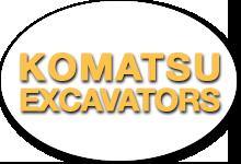 Komatsu Excavator Fleet