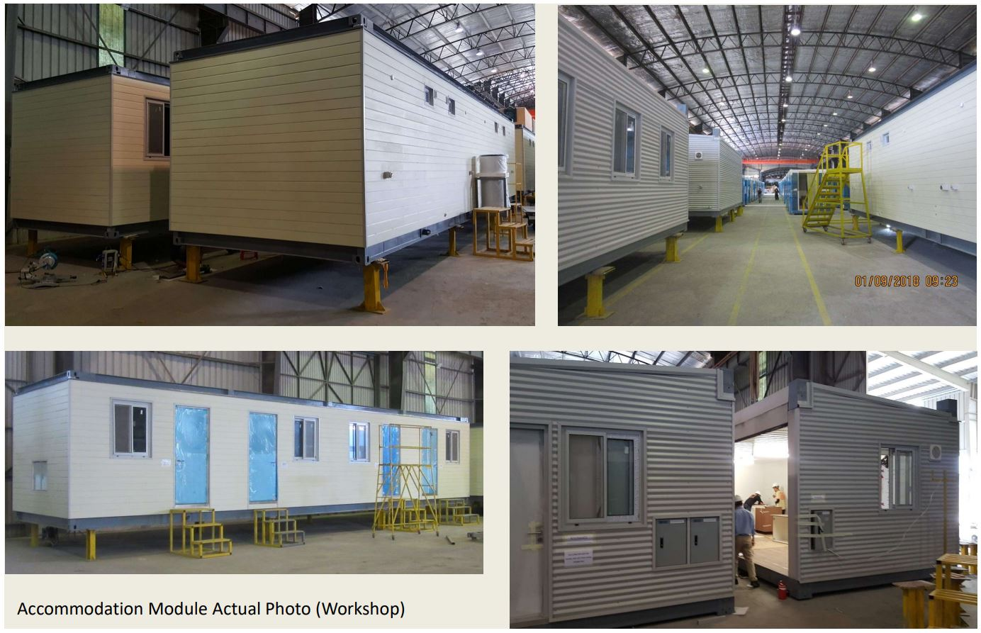 Offers Invited - New Modular Accommodation Mine Ca