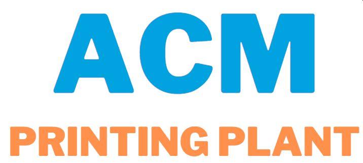 ACM Printing Plant Closure