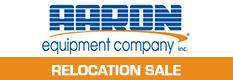 Aaron Equipment Company - Relocation Sale #1