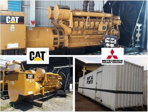 Major Event Auction: 150 Caterpillar & Mitsubishi