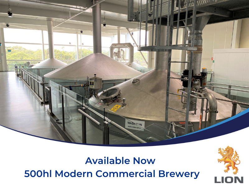 500hl Commercial Brewery - South Australia