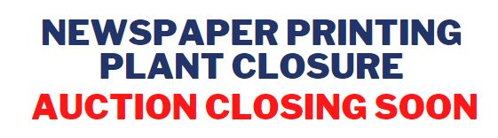 Newspaper Printing Plant Closure
