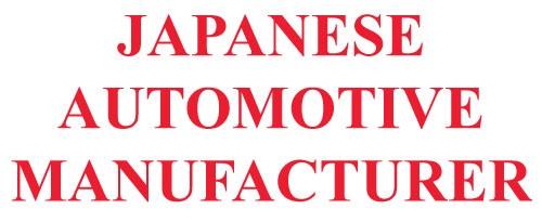 Japanese Automotive Manufacturer