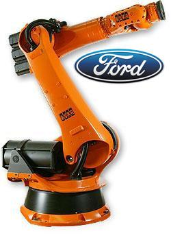 Kuka Robots Auction at Ford Genk